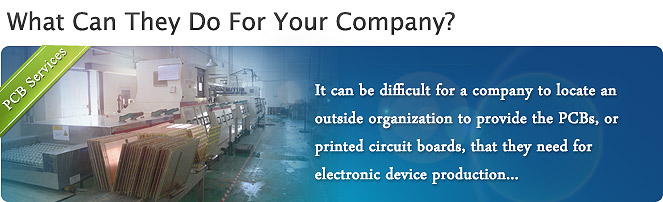 PCB Services: What Can They Do For Your Company?
